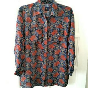 Vtg. Lizsport Blouse